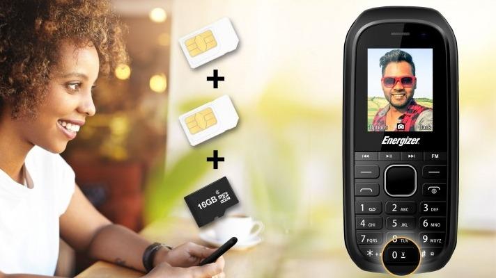 Новый телефон Energizer E12 за 12 евро