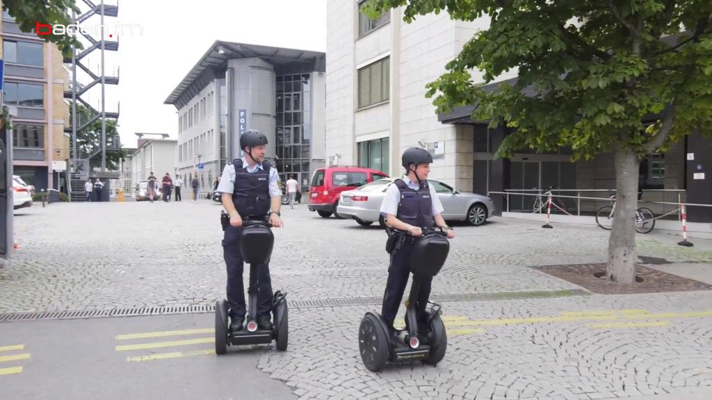 Segway Polizei