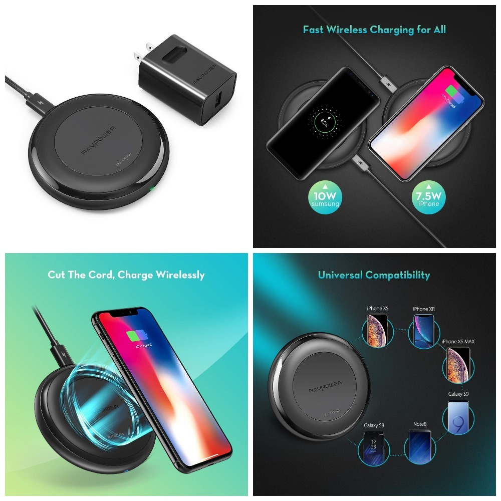 RAVPower Fast Wireless Charger