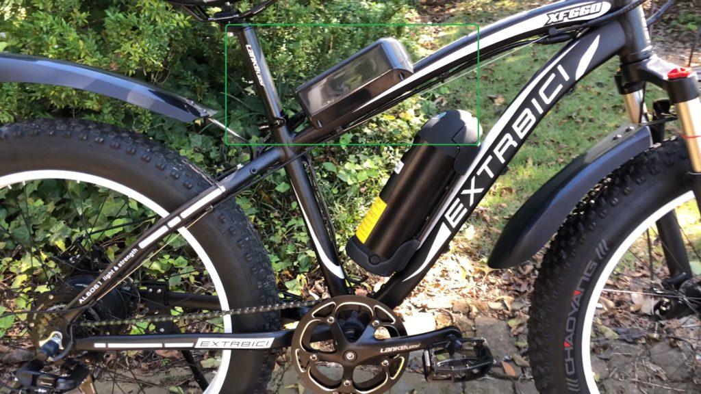 Батарея на велосипеде