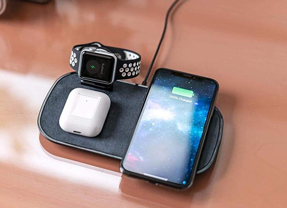 Zens Dual + Watch Aluminium 20W
