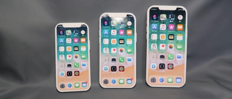 Макеты iPhone 12