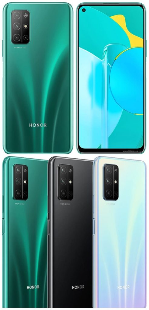Honor 30S дизайн