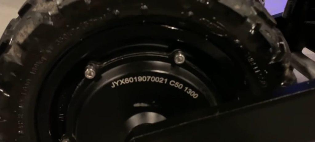 Halten RS-03 V2 мотор колесо
