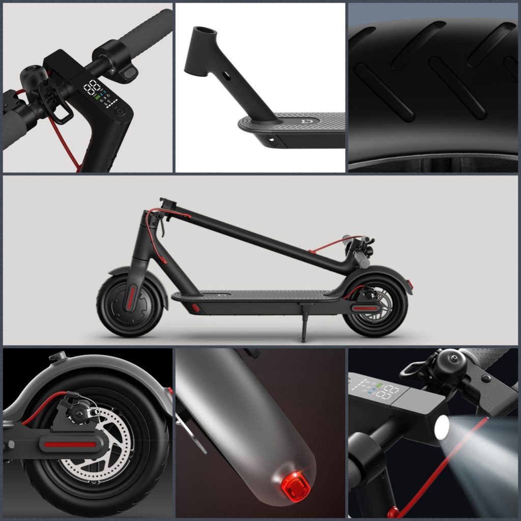 Основные узлы Xiaomi Mi Electric Scooter 1S